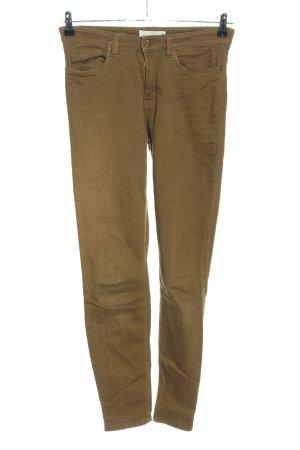 H&M L.O.G.G. Slim Jeans khaki Casual-Look