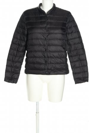 H&M L.O.G.G. Quilted Jacket black quilting pattern casual look
