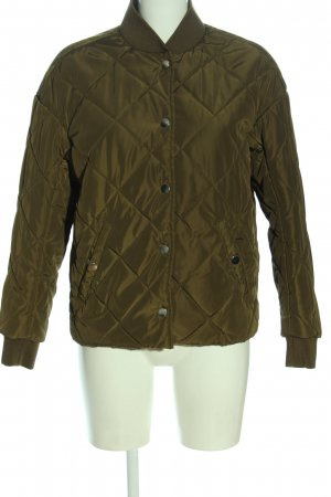 H&M L.O.G.G. Quilted Jacket brown quilting pattern casual look