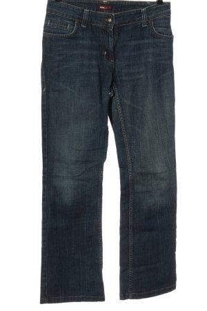 H&M L.O.G.G. Jeansy z prostymi nogawkami niebieski W stylu casual