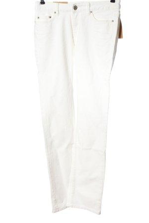 H&M L.O.G.G. Jeansy z prostymi nogawkami biały W stylu casual