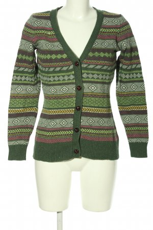 H&M L.O.G.G. Strick Cardigan Allover-Druck Casual-Look