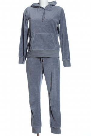 H&M L.O.G.G. Knitted Twin Set blue flecked casual look