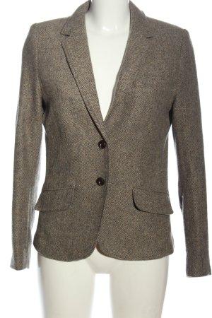 H&M L.O.G.G. Blazer in maglia motivo a righe stile casual