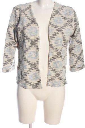 H&M L.O.G.G. Blazer in maglia motivo a quadri stile casual