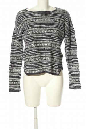 H&M L.O.G.G. Strickpullover grafisches Muster Casual-Look
