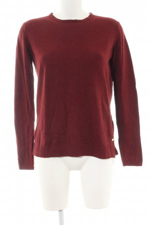 H&M L.O.G.G. Strickpullover rot Casual-Look