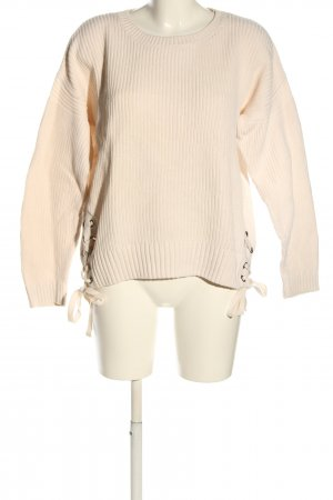 H&M L.O.G.G. Strickpullover creme Casual-Look