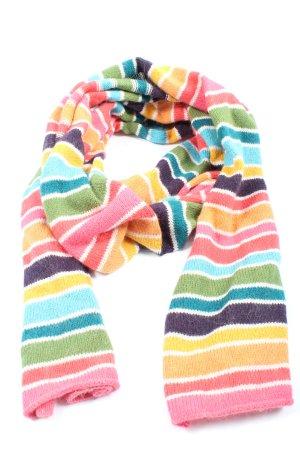 H&M L.O.G.G. Écharpe en tricot motif rayé style décontracté