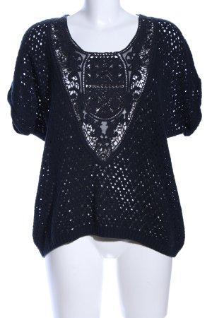 H&M L.O.G.G. Camicia maglia nero stile casual