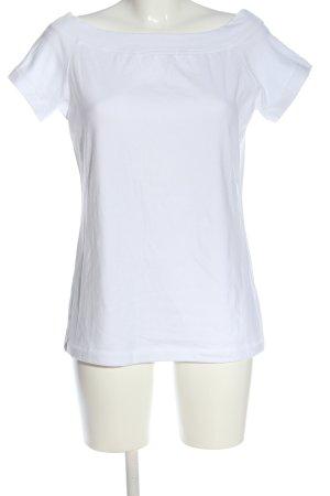 H&M L.O.G.G. Strickshirt weiß Casual-Look