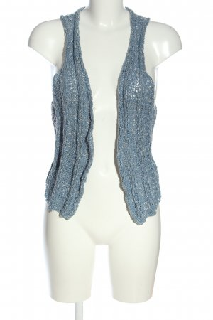 H&M L.O.G.G. Knitted Vest blue casual look
