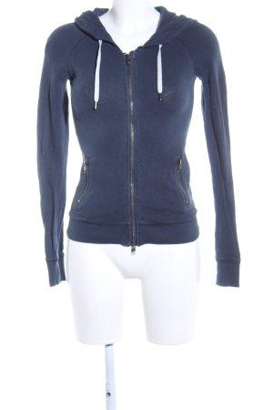 H&M L.O.G.G. Sweatjacke blau Casual-Look