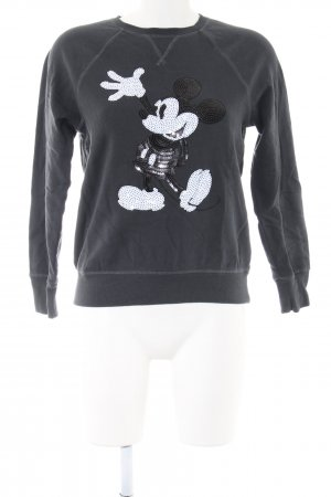 H&M L.O.G.G. Sweatshirt Motivdruck Casual-Look