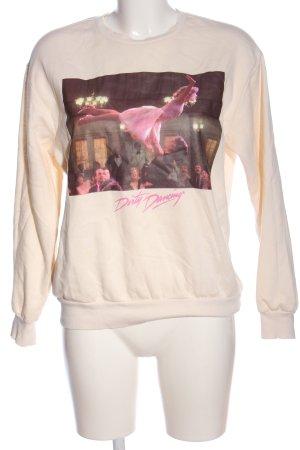 H&M L.O.G.G. Sweatshirt Motivdruck Casual-Look