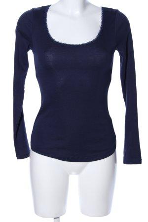 H&M L.O.G.G. Sweatshirt blau Casual-Look