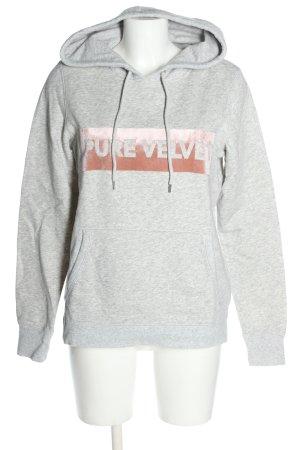 H&M L.O.G.G. Sweatshirt hellgrau Casual-Look