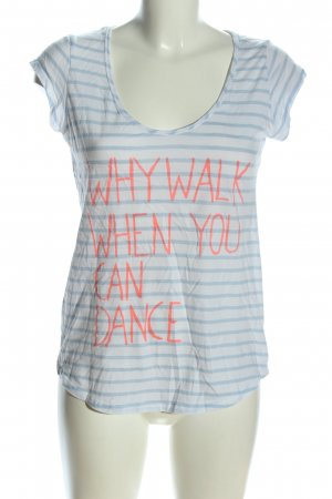 H&M L.O.G.G. T-Shirt Allover-Druck Casual-Look