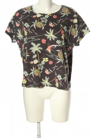 H&M L.O.G.G. T-Shirt Blumenmuster Casual-Look