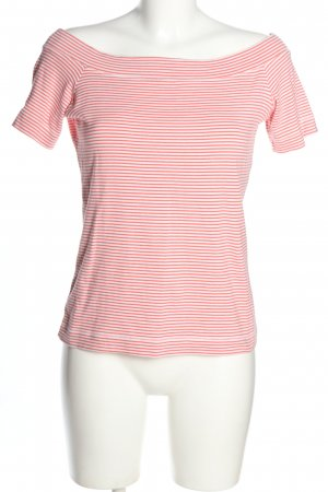 H&M L.O.G.G. T-Shirt rot-weiß Streifenmuster Casual-Look