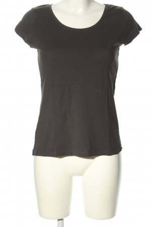 H&M L.O.G.G. T-Shirt schwarz Casual-Look