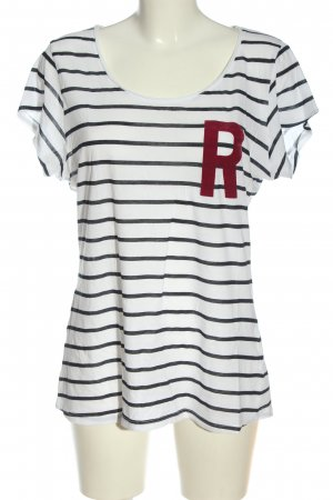 H&M L.O.G.G. T-Shirt Streifenmuster Casual-Look