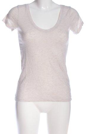 H&M L.O.G.G. T-Shirt wollweiß meliert Casual-Look