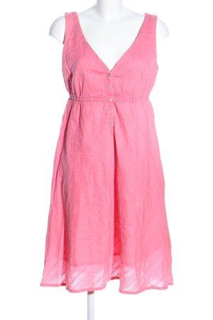 H&M L.O.G.G. Trägerkleid pink Streifenmuster Casual-Look