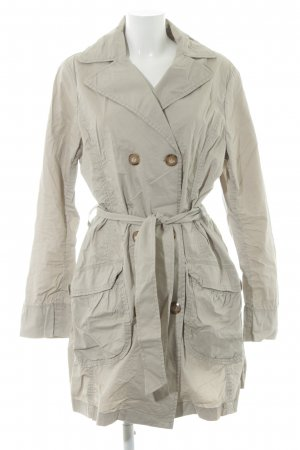 H&M L.O.G.G. Trenchcoat hellbeige Casual-Look