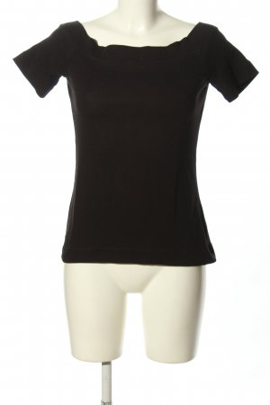 H&M L.O.G.G. U-Boot-Shirt schwarz Casual-Look
