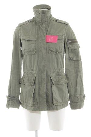 H&M L.O.G.G. Übergangsjacke khaki Casual-Look