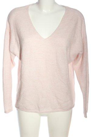 H&M L.O.G.G. V-Ausschnitt-Pullover pink Casual-Look