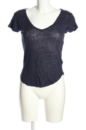 H&M L.O.G.G. T-Shirt blau Casual-Look