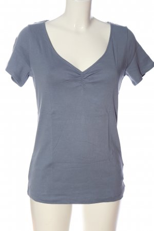 H&M L.O.G.G. V-Neck Shirt blue casual look