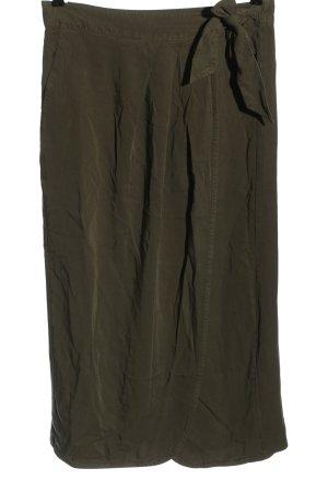 H&M L.O.G.G. Kopertowa spódnica khaki W stylu casual