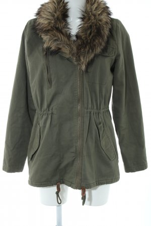 H&M L.O.G.G. Winterjacke khaki Casual-Look