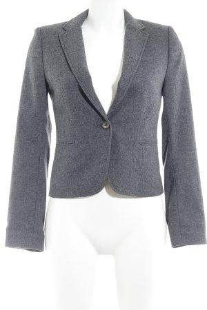 H&M L.O.G.G. Blazer en laine gris foncé moucheté style d'affaires