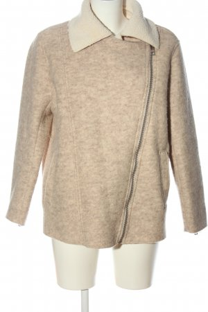H&M L.O.G.G. Wełniany sweter nude-kremowy Melanżowy W stylu casual