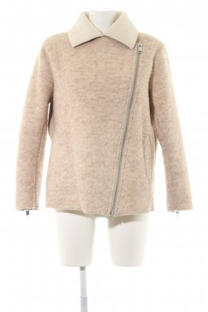 H&M L.O.G.G. Wool Jacket beige-cream flecked casual look