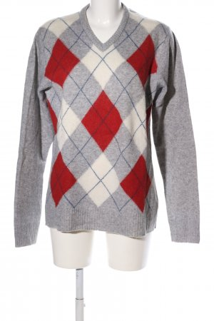 H&M L.O.G.G. Wollpullover Karomuster Casual-Look