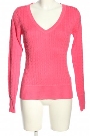 H&M L.O.G.G. Zopfpullover pink Casual-Look