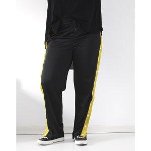 H&M lässige Hose Knöpfe M 38 40 42 schwarz Jogger Triningshose Adibreak Style Blogger Insta