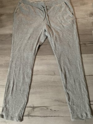 H&M Pantalon «Baggy» gris