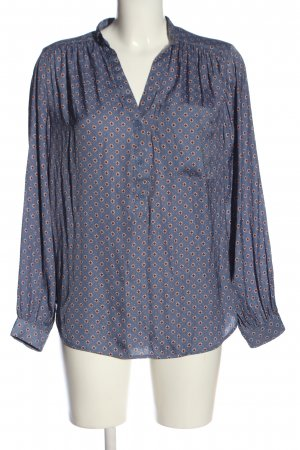 H&M Langarm-Bluse Allover-Druck Casual-Look