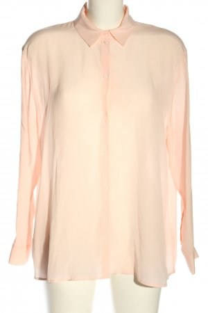H&M Langarm-Bluse nude Business-Look