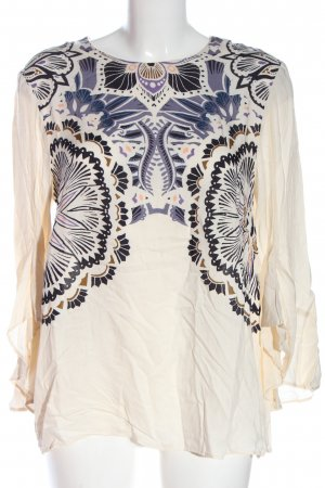 H&M Langarm-Bluse Mustermix Casual-Look