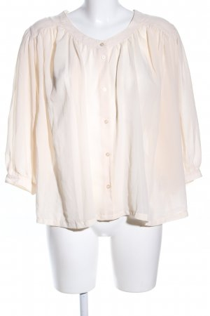 H&M Langarm-Bluse creme Elegant