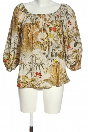 H&M Schlupf-Bluse abstraktes Muster Casual-Look