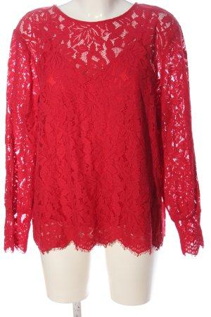 H&M Langarm-Bluse rot Elegant