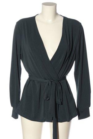 H&M Langarm-Bluse grün Casual-Look